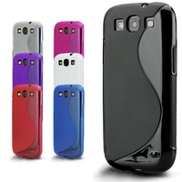 Slim fitting Gel silicon case cover for Samsung galaxy S3 Mini i8190 S3 i9300