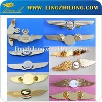 Bulk die casting metal pilot wings pins