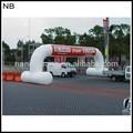 nb-ar3062 نفخ القوس مع شعار طباعة رخيصة للترويج للسيارات