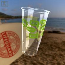 B500-P PLA 16oz 500ml disposable - beer cups plastics