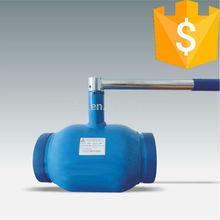 Handle full bore fully welded ball valve