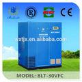venta caliente 22kw de frecuencia variable pequeños de refrigeración del compresor de aire