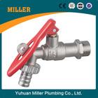 yuhuan manufacturer brass bibcock tap with lock ML-3004