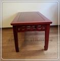 Hot vente antique bois massif à manger tables