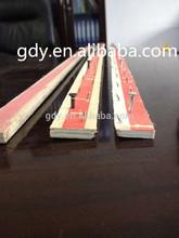 poplar plywood carpet tack strip/carpet smooth edge trim