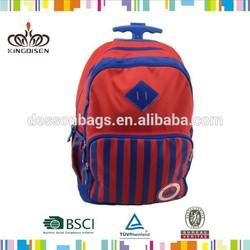 Hot!!! red kid's trolley luggage/kids luggage/kids trolley backpack