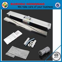stainless steel floor trap drains, tile insert linear shower drain