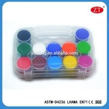 12pcs 20ml plastic box acrylic painting for artist