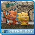 2014 HOT sale of life-size cartoon fiberglass statues