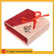 2015 New Cute Mini hot sale jewelry box velvet,paper bracelet box