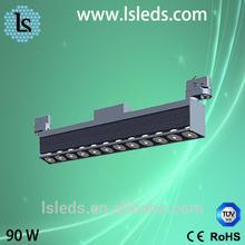 top level hot sell led track light for cloth store lighting commercial led light