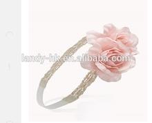 Headband big flower,chiffon flower baby girl satin headband,flower headband