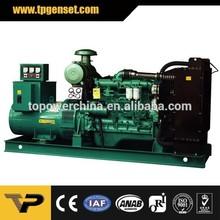 1800rpm 60hz open frame Chinese 40kw generator