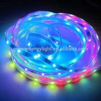 magic dream color led strip fita de led 5050 rgb waterproof ws2811ic led strip waterproof IP65