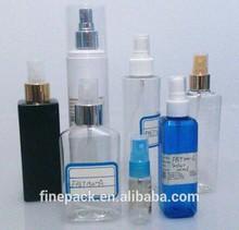 10ml - 500ml spary beauty industry PET plastic spray bottle