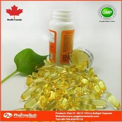 China OEM manufacturers omega 3 fish oil halal softgel