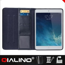QIALINO Premium Quality Leather Flip Rugged Waterproof Cases For Ipad