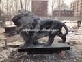 tamanho grande de granito estátua do leão