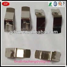 2015top selling ROHS compliant America client customized nickel / tin / chrome plated 9 volt / 12v copper battery clip,batterie