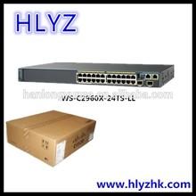 Cisco 24 ports WS-C2960X-24TS-LL Gigabit SFP Managed Switch