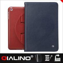 QIALINO Custom For Ipad Mini Horse Leather Case