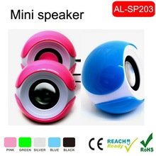 2.0 portable mini computer speaker with passive at backside ,hot new products for 2015,speaker box
