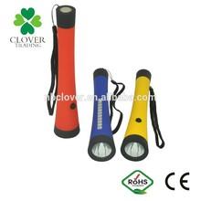 Made in China High powerful plastic 1+10 LED led light flashlight