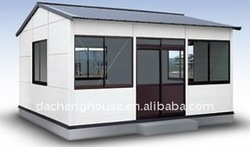 Reclycle use Low Cost thermal camera steel wood prefabricated residential houses and villas