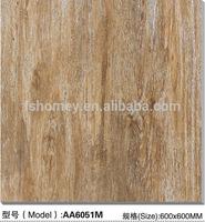 Best price rustic glazed porcelain floor tiles look like wood for interior wrought iron stair railings from foshan nanhai