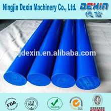 Exturded blue PA6 Nylon rod, Yellow nylon bar/Stick supplier