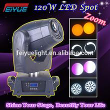 Cheap Disco Light 120W LED Spot Moving Head Club DJ Stage Light