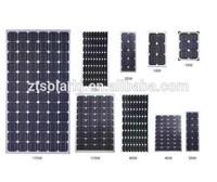 OEM monocrystal and polycrystal solar panel 10-300 W