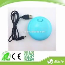 annuncio promozionale tappetini mouse mano scaldino elettrico madein china