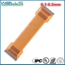 Single sided and double sided flexible flex PCB FPC