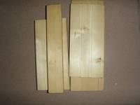 Finland white Pine / Hemlock / Abachi / Cedar sauna wood