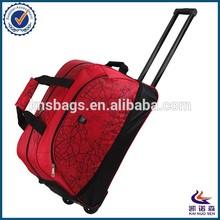 Large capacity Nylon trolley duffel bag