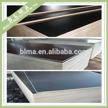 Formica película enfrentou a madeira compensada, black madeira compensada hpl folha, hpl placa de fórmica