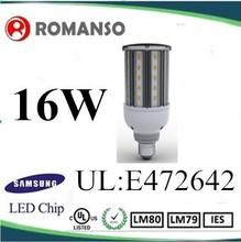 Cost Little 16Watt Led Corn Bulb Light UL Listed with Base Type E26/E27/E39/E40