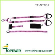 Fitness Suspension trainer Belt Strap Pro Pink Home
