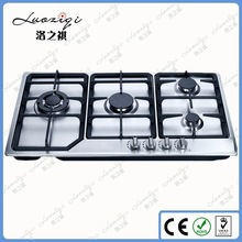 Auto Ignition 4 Burners Super Blue Flame LPG Gas Stove 201 SS Panel