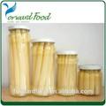 toutes sortes de légumes en conserve asperges blanches légumes asiatiques