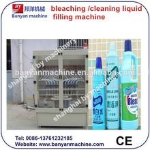YB-12 12 heads anti corrosion/bleaching water/cleaning liquid automatic filling machine