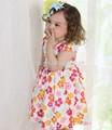 Enfants vêtements de ville gros/fleur fille robe modèles gratuits