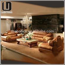 Luxury Style Latest Desgin Living Room Wooden Sofa