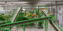 Household garbage/Municipal Solid Waste (MSW)sorting system+RDF system+MSW gasification incineration power system