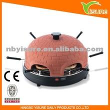 Mini pizza oven 6 person pizza dome