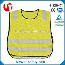 EN1150 100%polyester kids knit vest pattern child sleeveless sweater
