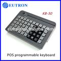 50 chaves usb programáveis teclado pos com leitor de cartão magnético