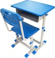 Usuário- amigável design mesa do estudante e cadeira/madeira metal mobiliário escolar