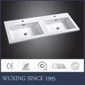 западный дизайн шкаф ванной комнаты встречной верхней части умывальник, встречной верхней части бассейна
